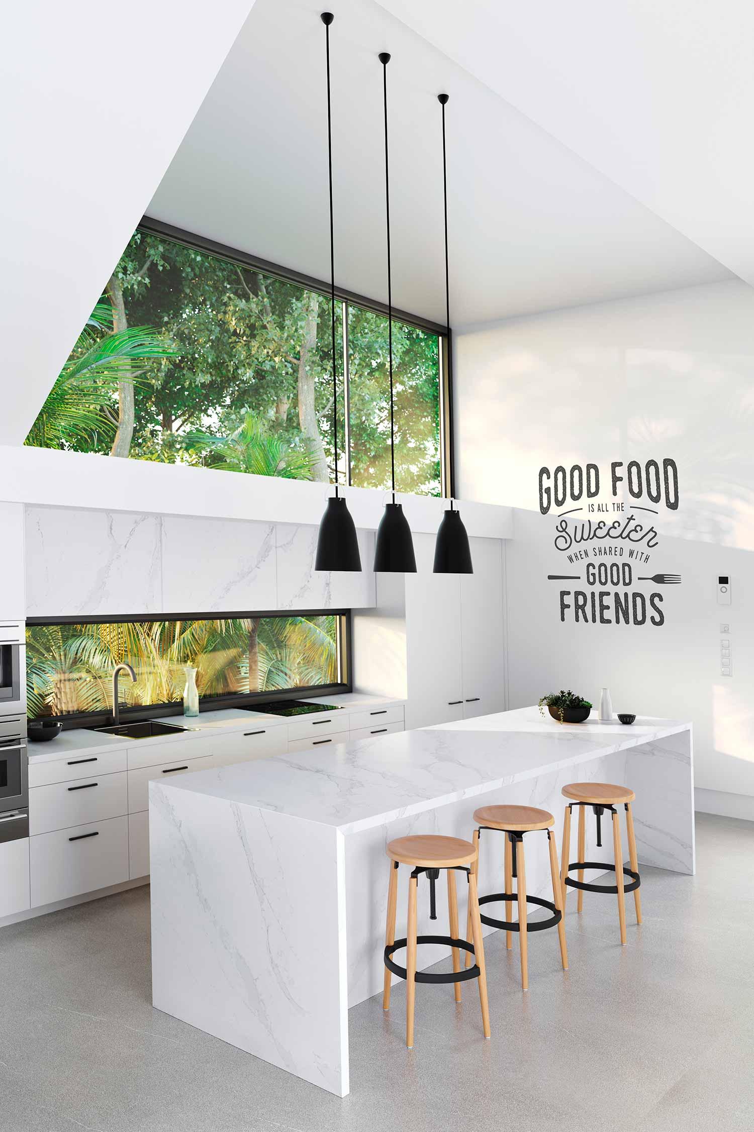 Kitchen Eternal Calacatta Gold